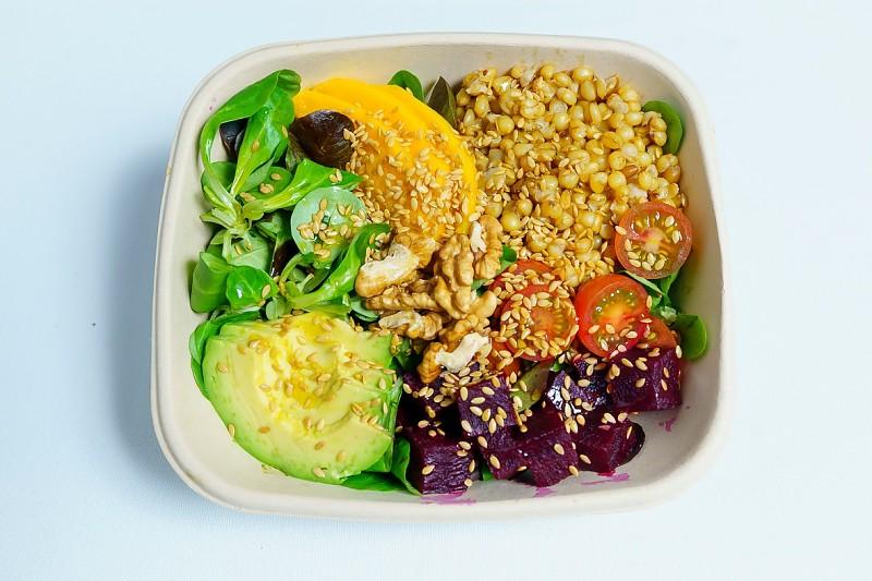 La vegana alimentossa