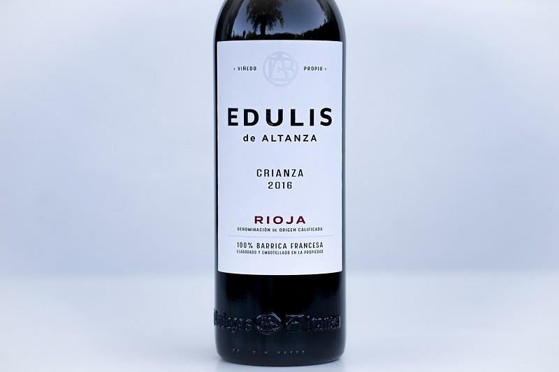 Vino tinto de La Rioja: EDULIS CRIANZA. Tempranillo